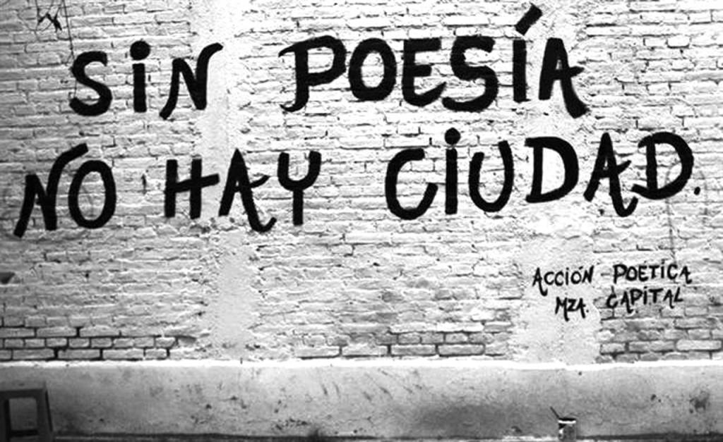 Sin poesía no hay ciudad