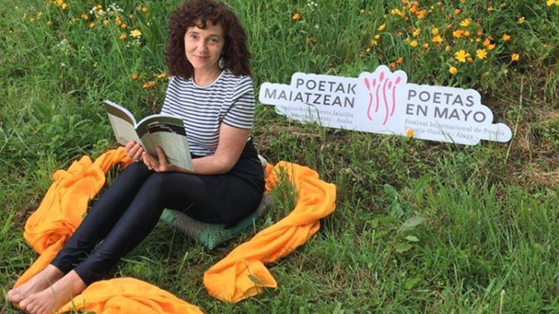 Elisa Rueda inaugura Poetas en mayo 2021